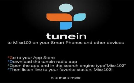 Mixx102 on TuneIn Radio